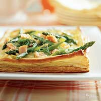 Image of Asparagus-salmon Scramble, Better Homes and Garden