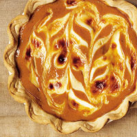 Pumpkin Mascarpone Pie