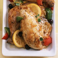 Oregano Chicken and Vegetables