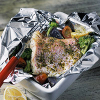 Red Snapper and Vegetables
