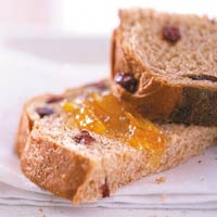 Cranberry-Peanut Butter Bread