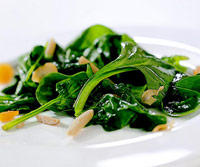 Spinach-Apricot Salad