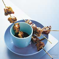 Pork and Chicken BBQ Sticks