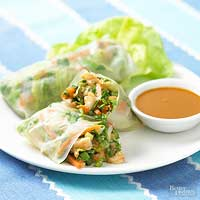 Image of Asian Spring Rolls, Better Homes and Garden