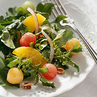 Melon and Watercress Salad