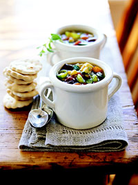 Image of A To Z Vegetable  Soup, Better Homes and Garden
