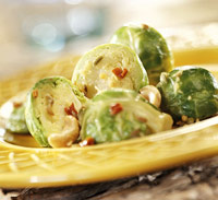 Braised Seasoned Brussels Sprouts