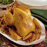 Image of Apple-and-wild Rice-stuffed Chicken, Better Homes and Garden
