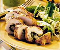 Chicken Breasts with Parmesan Pesto