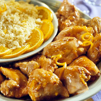 Chicken with Orange Couscous