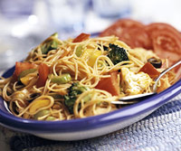 Image of Angel Hair Pasta Salad, Better Homes and Garden