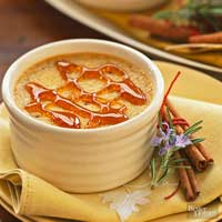 Pumpkin Spice Creme Brulee