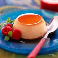 Image of Amazing Creme Caramel, Better Homes and Garden