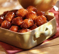Sweet-and-Sour Ham Balls