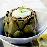 Image of Artichokes With Green Mayonnaise, Better Homes and Garden