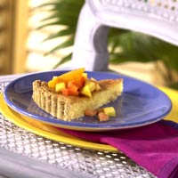 Coconut-Orange Tart