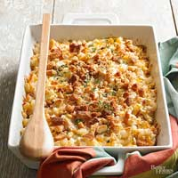 Smoky Chicken and Cheesy Potato Casserole