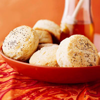 Honey and Poppy Seed Biscuits