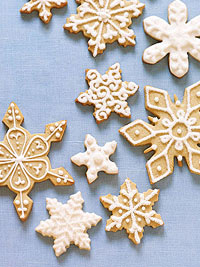Snowflake Sugar Cookies