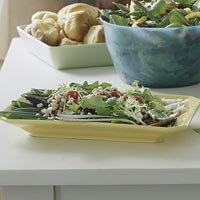 Black-Eyed Pea and Spring Green Salad