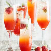 Strawberry and Sage Shrub