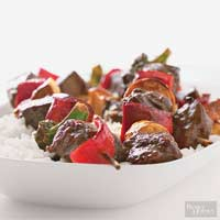 Beef and Broccoli Kabobs
