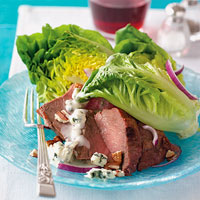 Steak Salad with Blue-Cheese Dressing