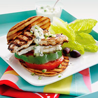 Greek Salad Stacks