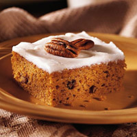 Harvest-Time Pumpkin Bars