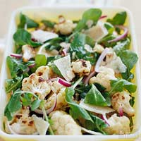 Image of Arugula And Roasted Cauliflower Salad, Better Homes and Garden