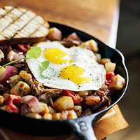 Beef Hash with a Spicy Kick