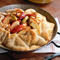 Image of Apple Tart With Cheddar Cheese Crust, Ladies' Home Journal