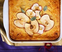 Image of Apples And Cheese Spoon  Bread, Better Homes and Garden