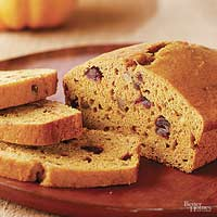 Orange-Date Pumpkin Bread