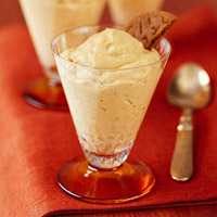 Ginger Pumpkin Mousse