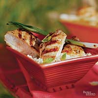 Garlic and Mint Chicken Breasts