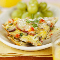 Rosemary Potato Frittata