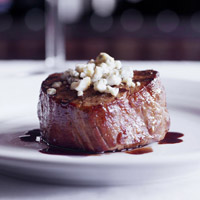 Hereford House--Chocolate Balsamic and Blue Cheese Fillet