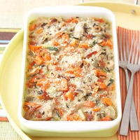 Artichoke-Turkey Casserole