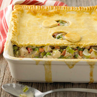 Deep-Dish Chicken Pot Pie