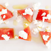 Lemon-Watermelon Bites