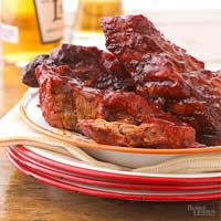 Glazed Country Ribs