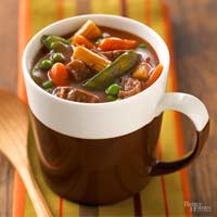 Hurry-Up Beef-Vegetable Stew