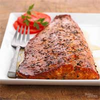 Maple-Smoked Salmon Fillet