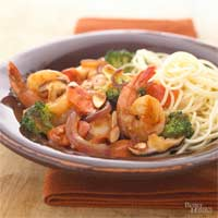 Stir-Fried Shrimp and Broccoli