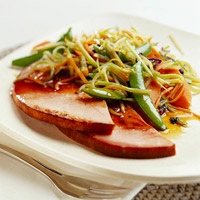 Ham with Five-Spice Vegetables