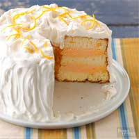 Image of Angel Food Ice Cream Cake, Better Homes and Garden