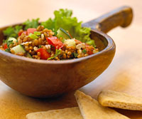 Wheat Berry Tabbouleh