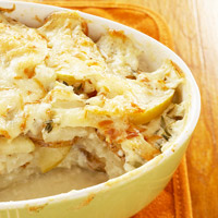 Basic Potatoes Au Gratin