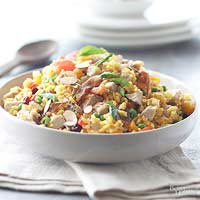 Turkey Paella Salad